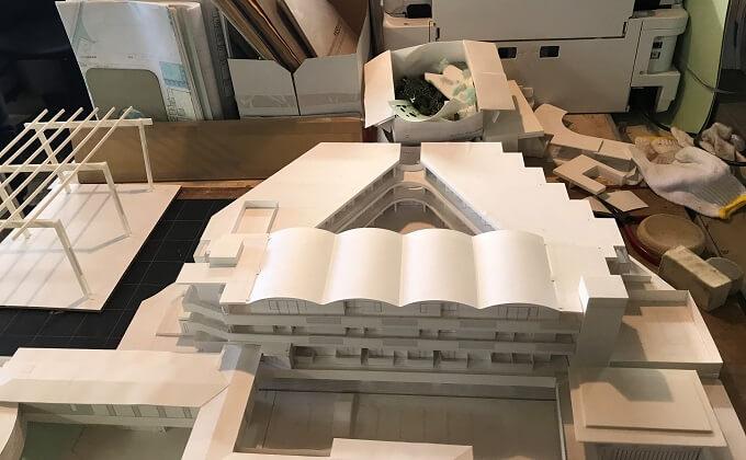建物 模型