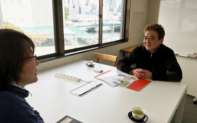 横川社長とスタッフさん