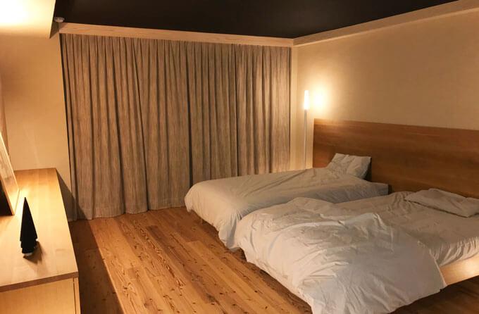 見せていただいた究極の寝室
