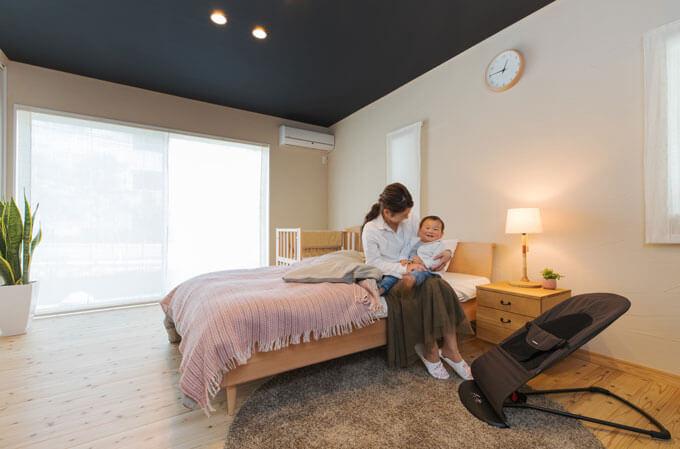 究極の寝室プロモーション写真