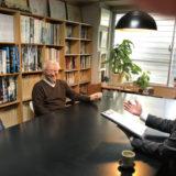 笑顔でインタビューに応じる黒木様と白柳様
