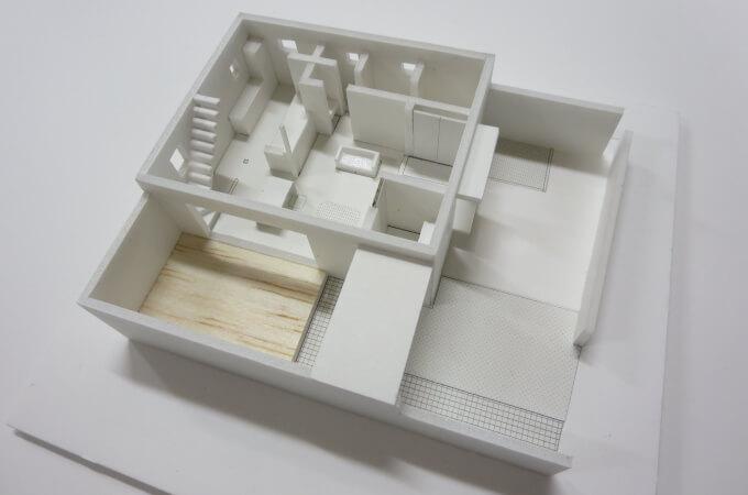3D建築モデル-間取り-
