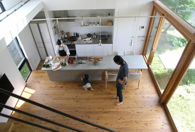 テーブルキッチンめじろ台の家2