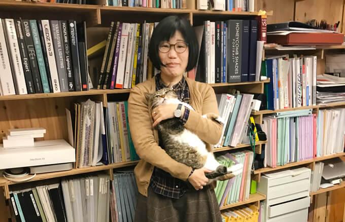 津野さんと猫ちゃん