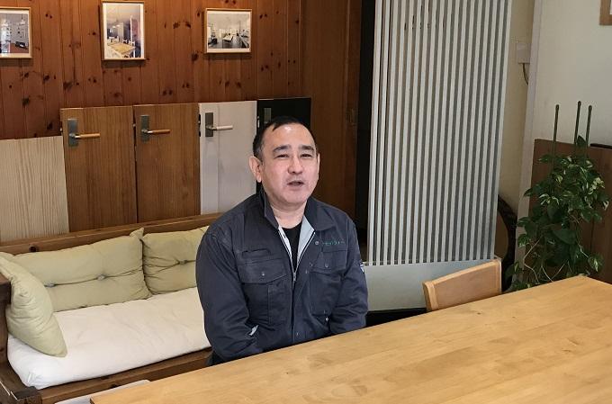 荒井社長インタビュー風景