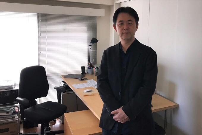 川田社長 正面