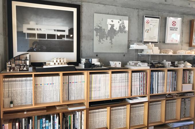 カトウアーキテクトオフィス室内
