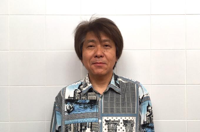 飯沼代表の正面写真