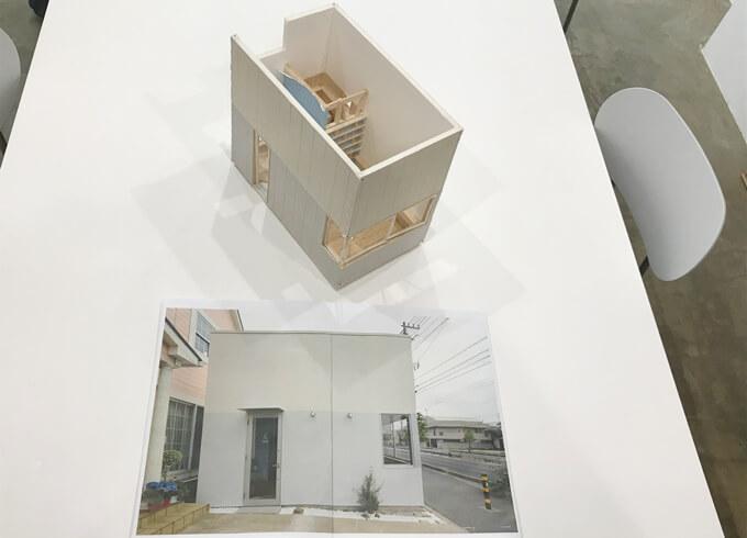 川口の美容室模型