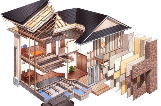 高断熱の家の構造