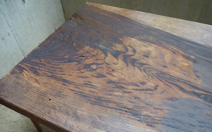DEN設計工房 無垢の木のテーブル