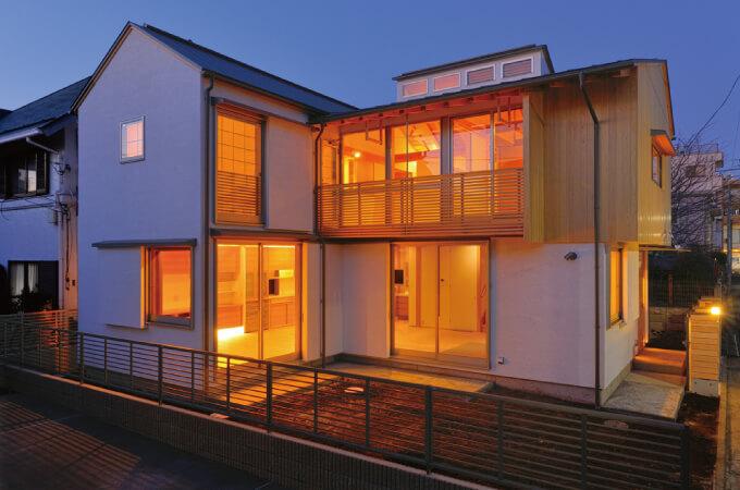 「木組の家」の外観