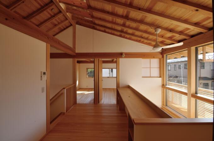 「木組の家」の内観
