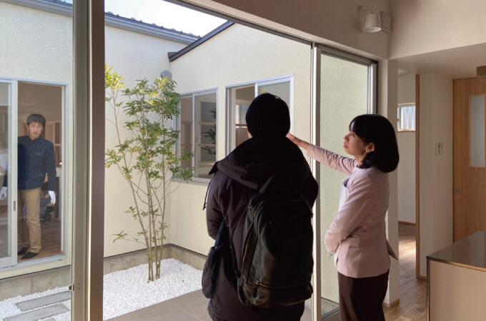 オープンハウスの風景2