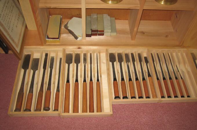 宮大工で使う道具