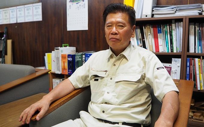 海老沢工務店 部長正面