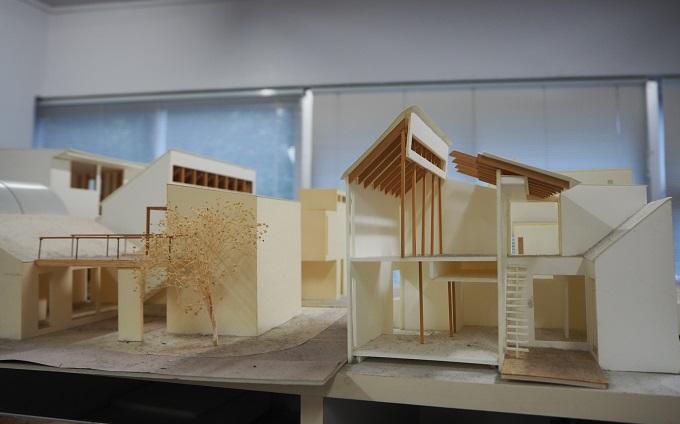 荒木毅建築事務所 模型1