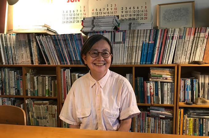 インタビューの横山さん