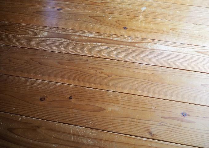 アトリエ椿 床