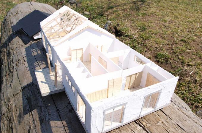 施工例の模型
