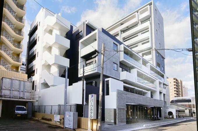 橋本の集合住宅