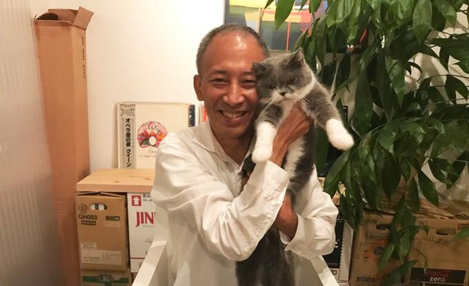 内海さんと猫ちゃん