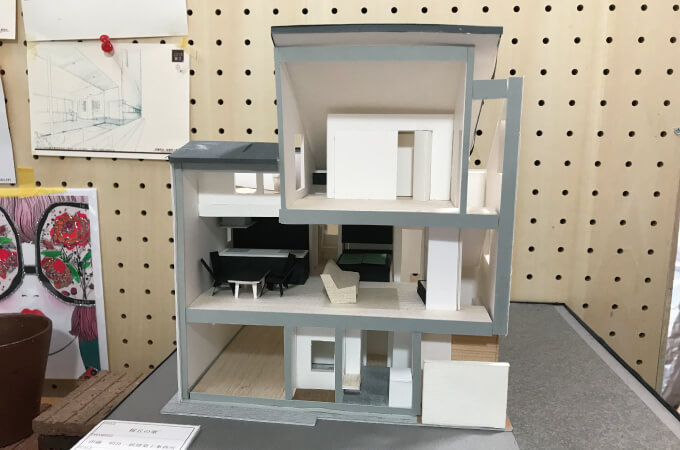桜丘の家の3Dモデル