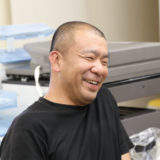 笑顔の松本社長