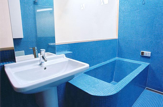 施工例の浴室