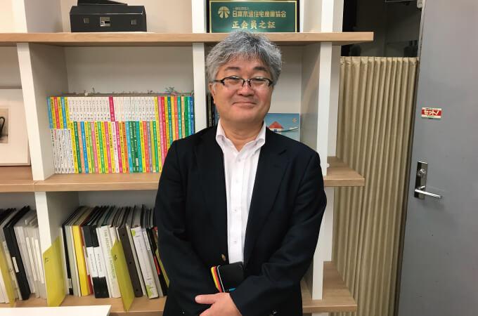 中村さんの正面写真