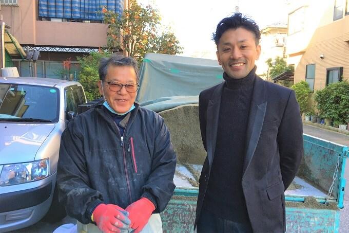 吉永会長と吉永専務