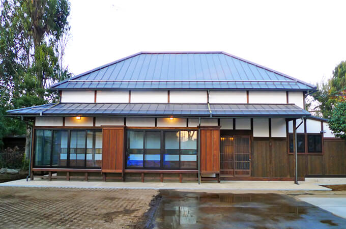 和風の住宅