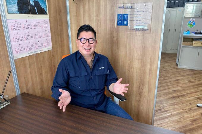 高橋さん笑顔