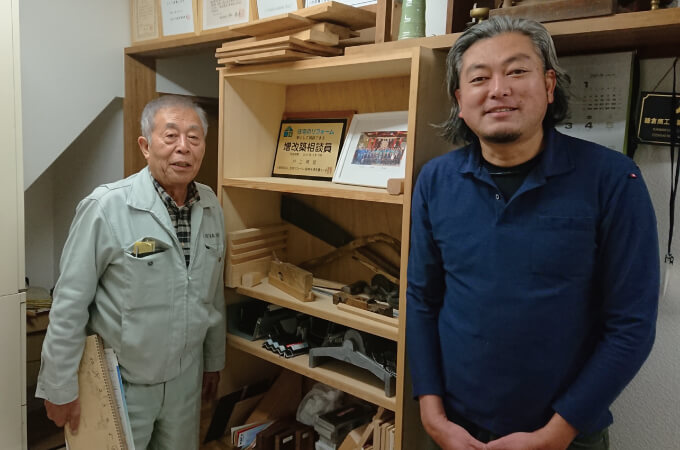 安齊会長と井上社長