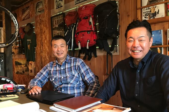 斎藤さんと笹原さん