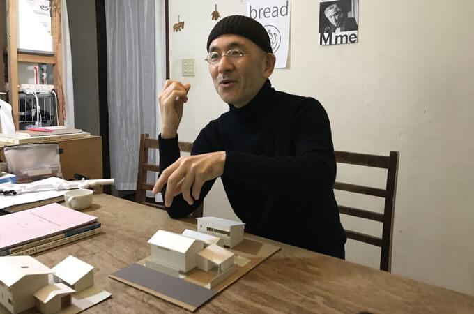 模型とた田村さん