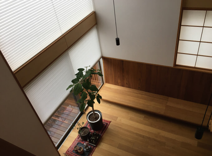 齋藤さんの自宅の内装