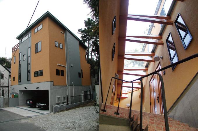 黒田さんの設計したお家1