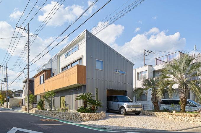 本橋さんが手掛けた住宅の外観