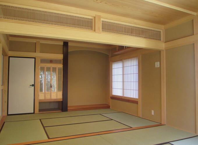 木造家屋・畳の部屋