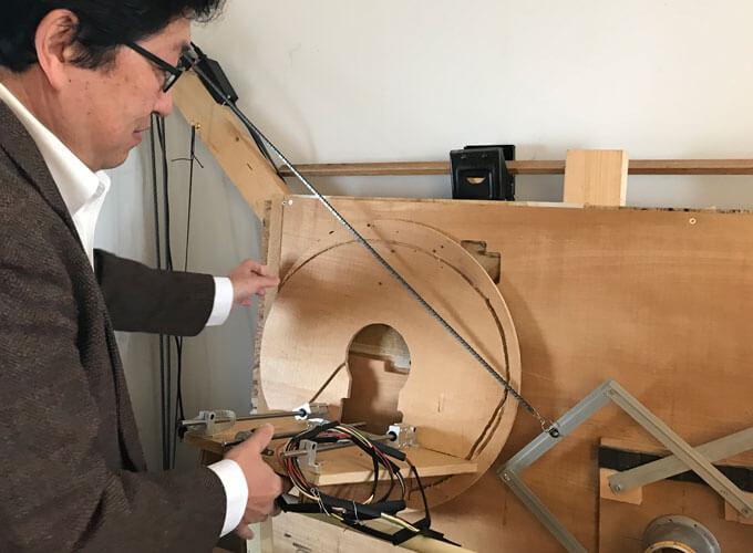 阿部 仁祐さんと工具