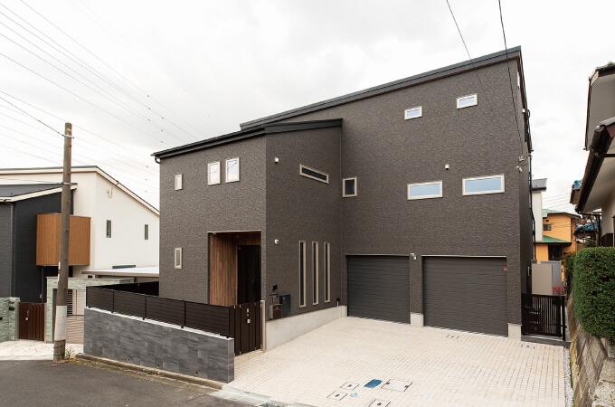 戸建て住宅の外観