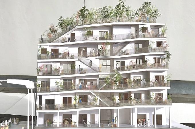 駒田建築設計事務所 模型