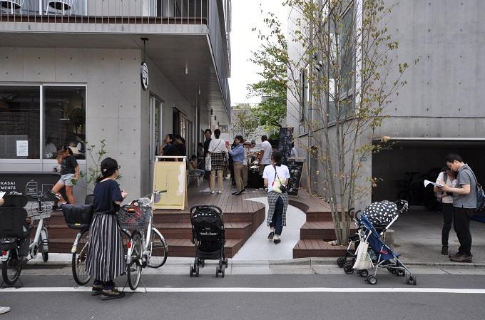 駒田建築設計事務所 マルシェ写真