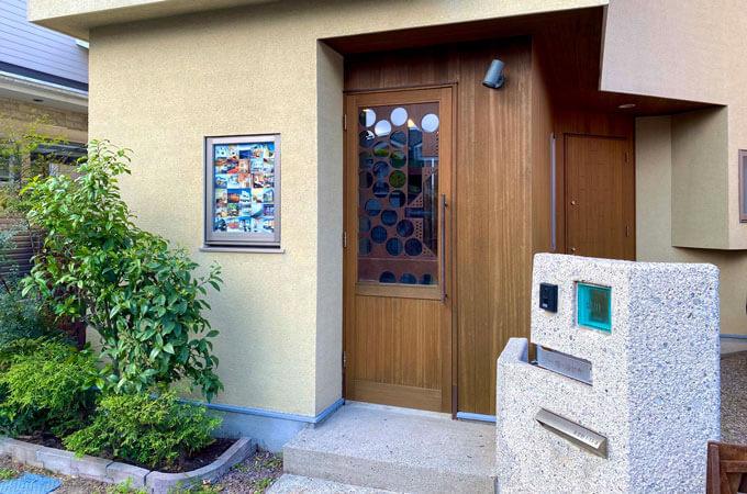 堀川設計舎さんのオフィス入り口