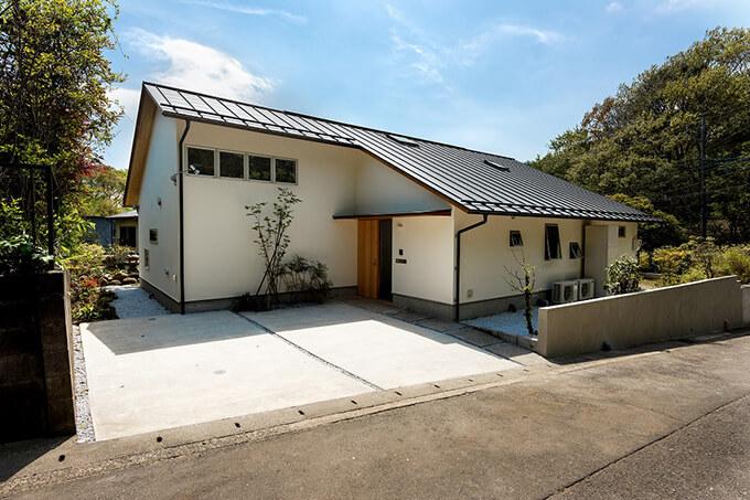 竹駒工務店大空間リビングのある家