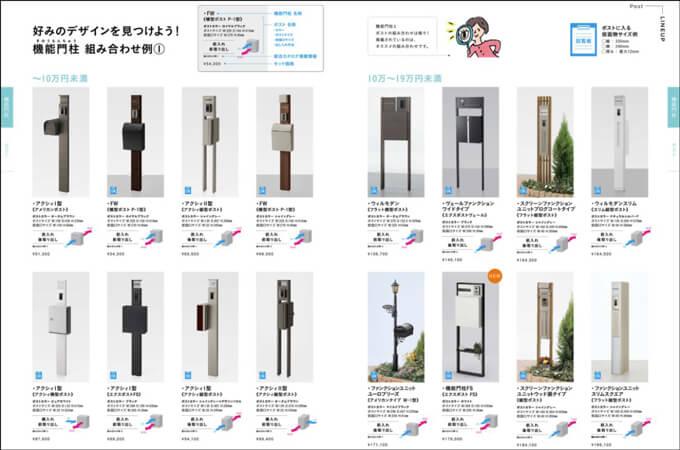 LIXILの商品カタログ