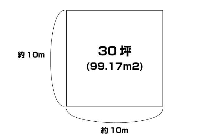 30坪の解説図