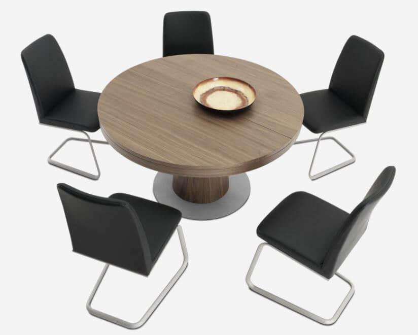 丸形テーブル