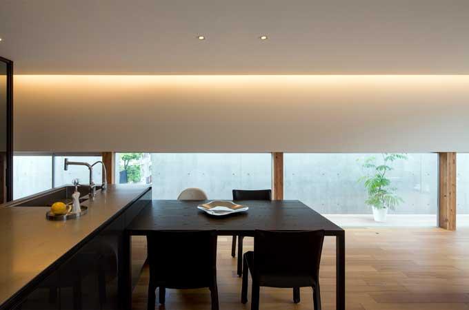 株式会社メグロ建築研究所さんの住宅事例「重箱ハウス」photo by 畑拓
